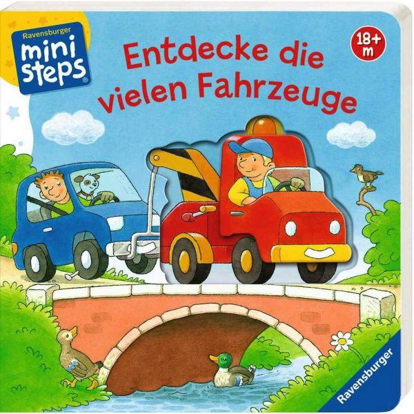 RAVENSBURGER 04130 - Mini Steps - Entdecke die vielen Fahrzeuge