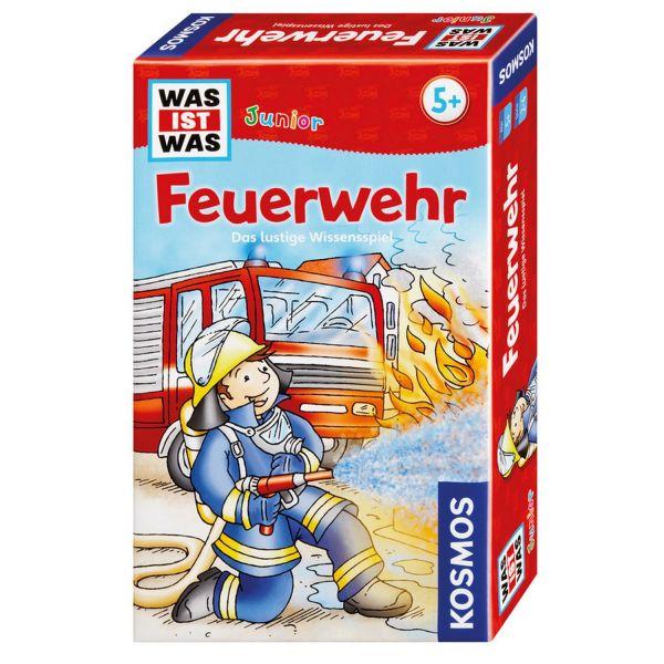 KOSMOS 712556 - Mitbringspiel - Was ist Was? Junior, Feuerwehr