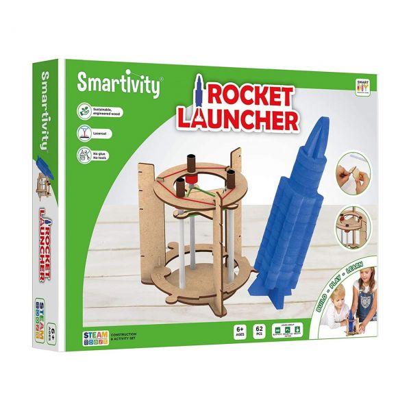 SMARTIVITY 102 - Konstruktionsspielzeug - Rocket Launcher, 62 Teile