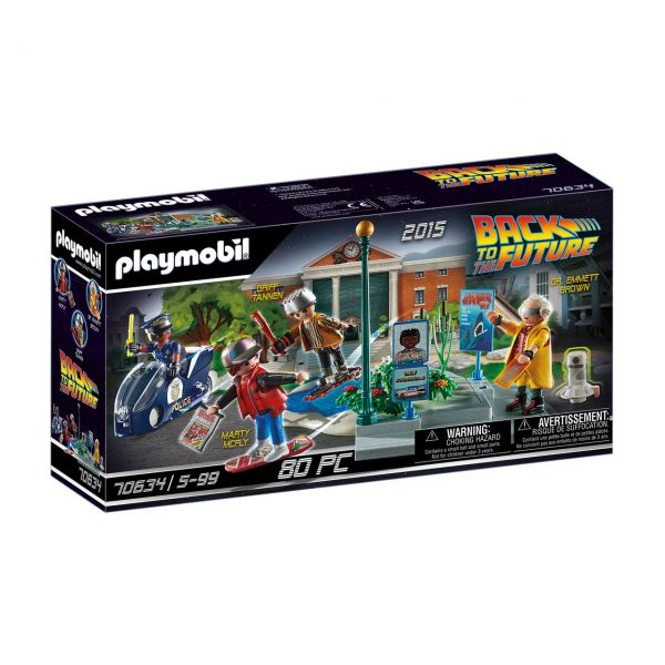 PLAYMOBIL 70634 - Back to the Future - Part II, Verfolgung mit Hoverboard