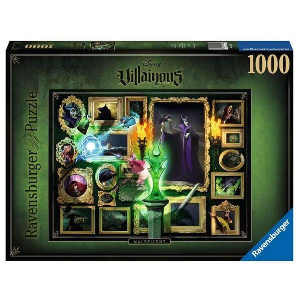 RAVENSBURGER 15025 - Puzzle - Disney Villainous Malificient, 1000 Teile