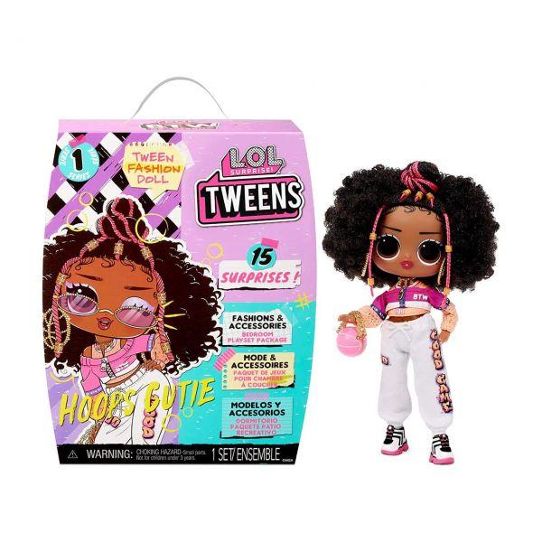 MGA 576693E7C - L.O.L. Surprise - Tweens Doll, HOOPS CUTIE, 15cm
