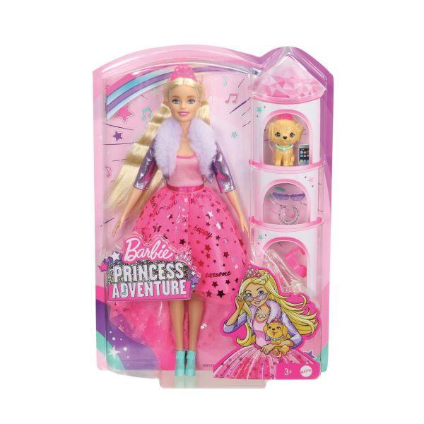 """MATTEL GML76 - Barbie - """"Prinzessinnen Abenteuer"""" Barbie Prinzessinnen-Puppe"""