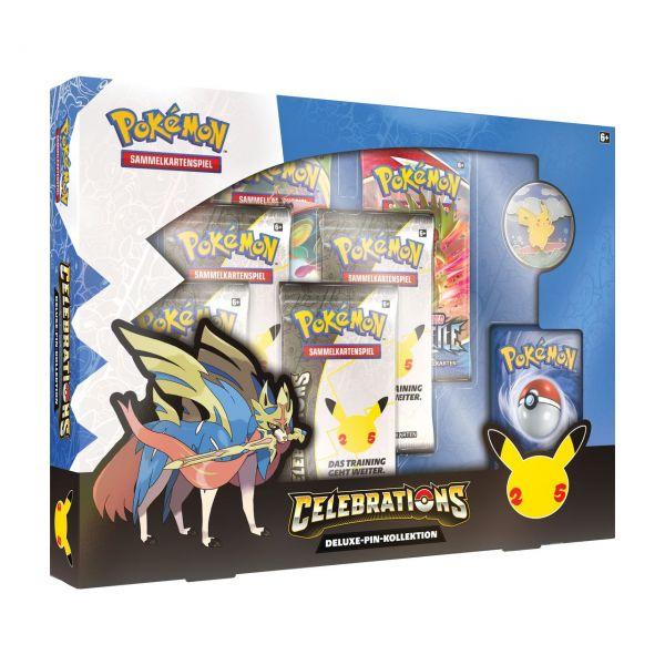 POKÉMON 45333 - 25th Anniversary Celebrations - Deluxe Pin Box