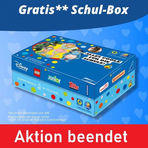 Gratis Schul-Box ab 40 € Bestellwert
