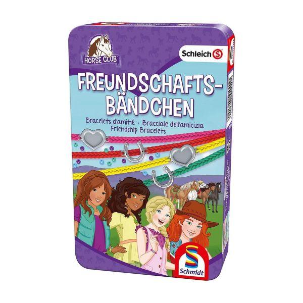 SCHMIDT 51440 - Bastelset - Schleich, Horse Club, Freundschaftsbändchen
