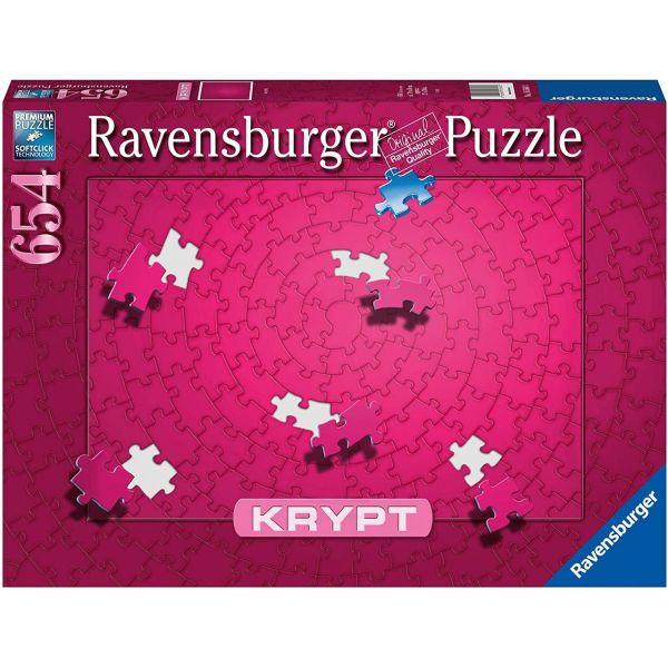 RAVENSBURGER 16564 - Puzzle - Krypt Pink, 654 Teile