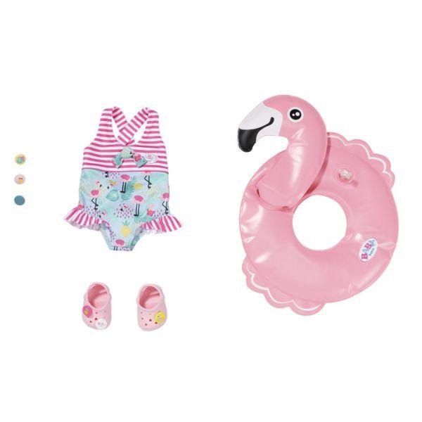 Zapf Creation 831731 - BABY born® - Holiday Schwimmspaß Set, 43cm