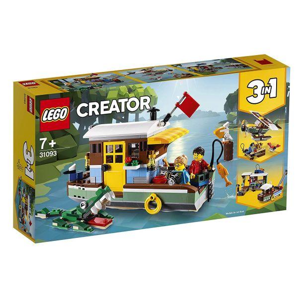 LEGO 31093 - Creator - Hausboot