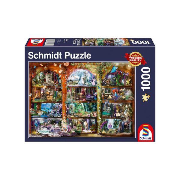 SCHMIDT 58965 - Puzzle - Märchen-Zauber, 1000 Teile