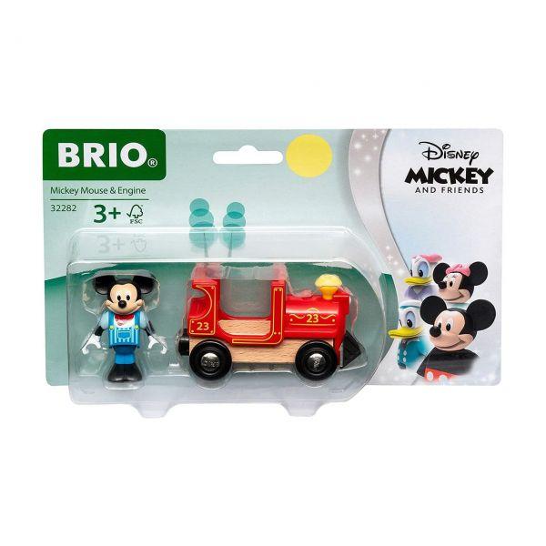 BRIO 32282 - Züge - Micky Maus Lokomotive