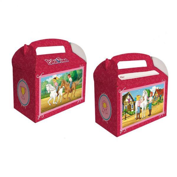 DH 501764 - Geburtstag & Party - Bibi & Tina Geschenkbox, 6 Stk., 13 x 15 x 8 cm