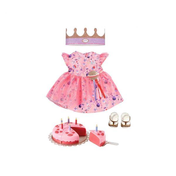 ZAPF 830789 - BABY born® - Deluxe Happy Birthday Set, 43cm