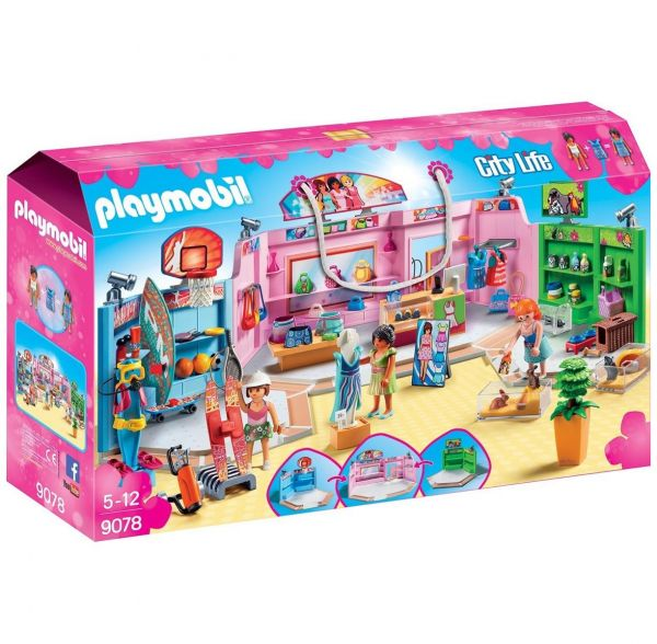 PLAYMOBIL 9078 - City Life - Einkaufspassage