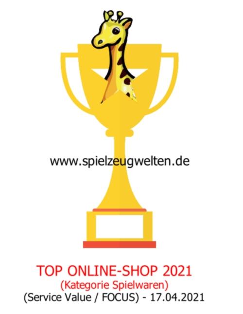 TOP Onlineshop 2021 Kategorie Spielwaren