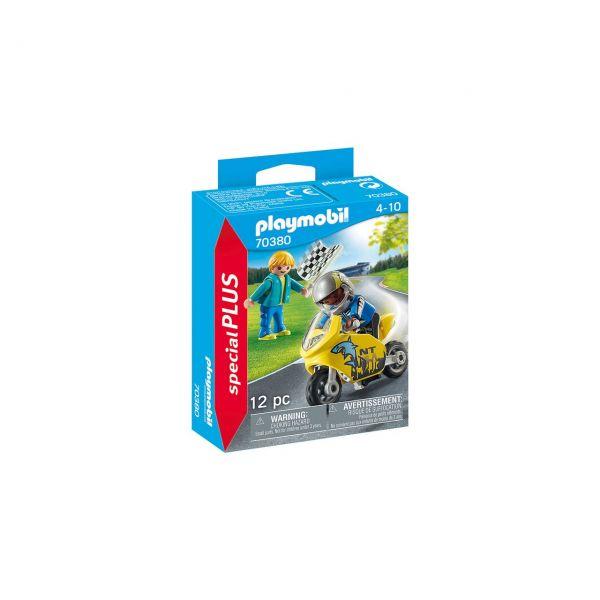 PLAYMOBIL 70380 - Special Plus - Jungs mit Racingbike