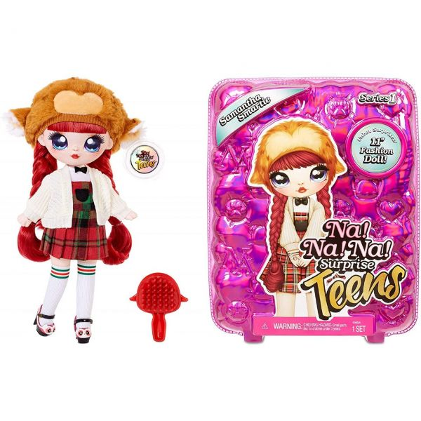 MGA 573876EUC - Na! Na! Na! Surprise - Teens Doll, Samantha Smartie