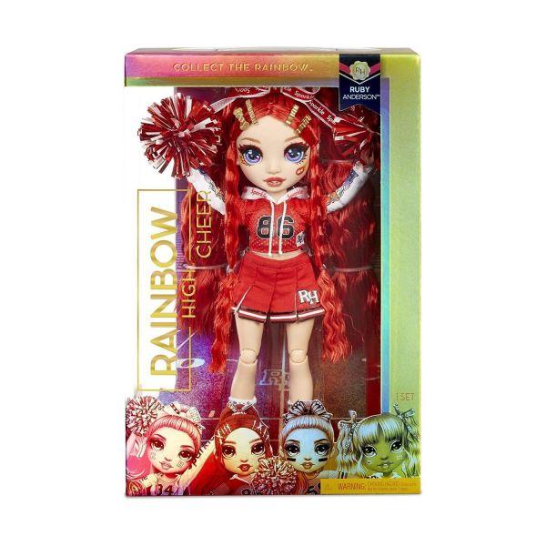 MGA 572039EUC - RAINBOW HIGH CHEER - Ruby Anderson - Cheerleader rot