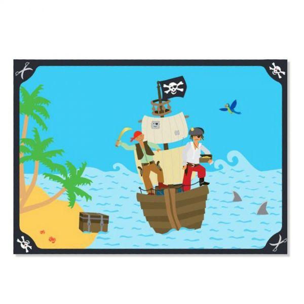 DH 302682 - Geburtstag & Party - Piraten Platzset, 6 Stk., 38 x 27 cm