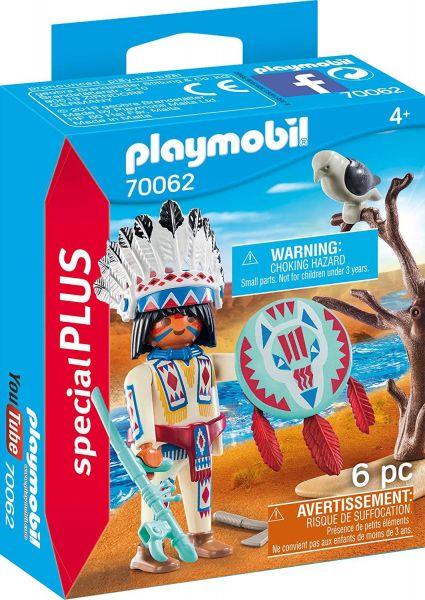 PLAYMOBIL 70062 - Special Plus - Indianerhäuptling