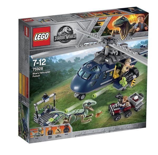 LEGO 75928 - Jurassic World - Blue's Hubschrauber-Verfolgungsjagd