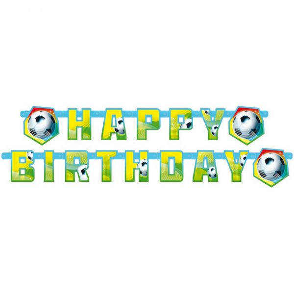 AMSCAN 552566 - Geburtstag & Party - Fußball Partykette