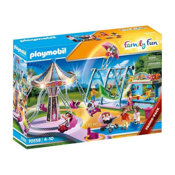 PLAYMOBIL 70558 - Family Fun - Großer Vergnügungspark