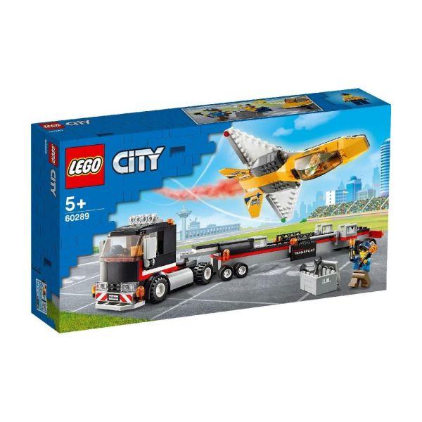 LEGO 60289 - City - Flugshow-Jet-Transporter