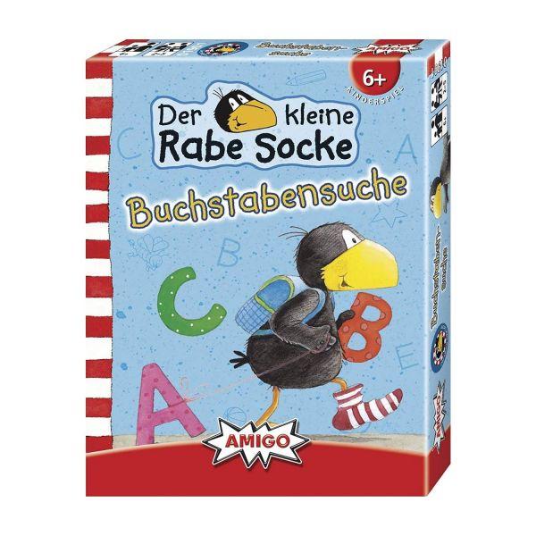 AMIGO 01901 - Kinderspiele - Rabe Socke - Buchstabensuche