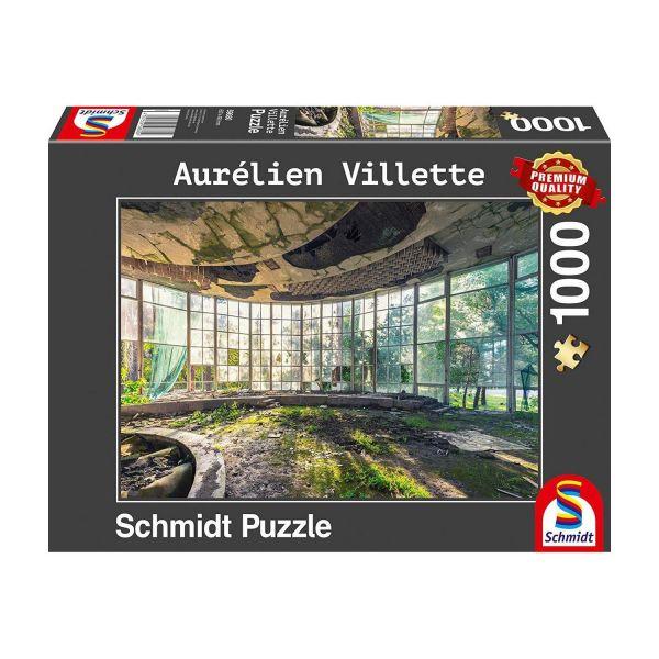 SCHMIDT 59680 - Puzzle - Aurelien Villette, Altes Café in Abchasien, 1000 Teile