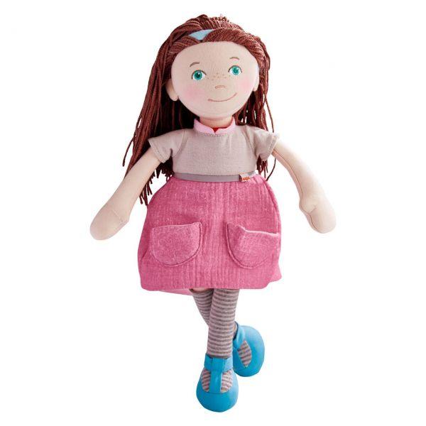 HABA 305649 - Puppe - Schlenkerpuppe Agnes, 36cm