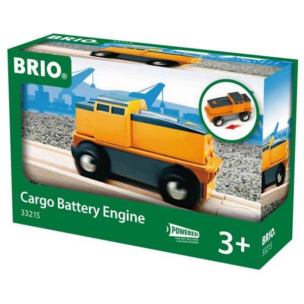 BRIO 33215 - Bahn - Kleine Frachtlok, batteriebetrieben