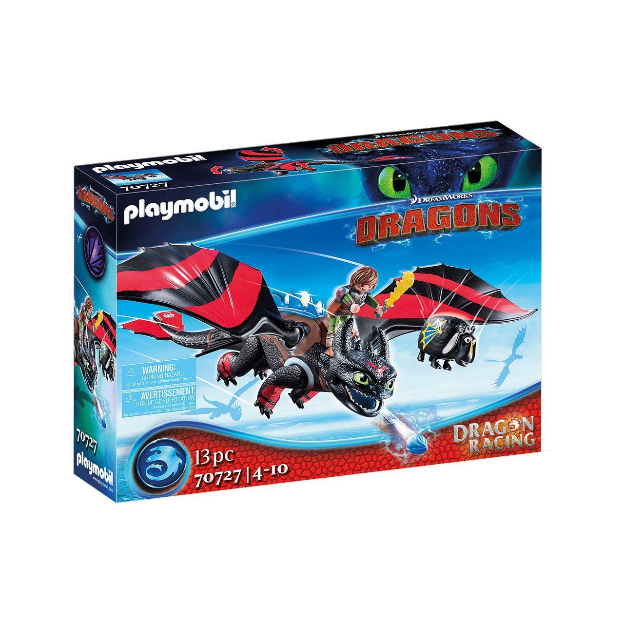 Playmobil 70727 Dragons Dragon Racing Hicks Und Ohnezahn Spielzeugwelten De