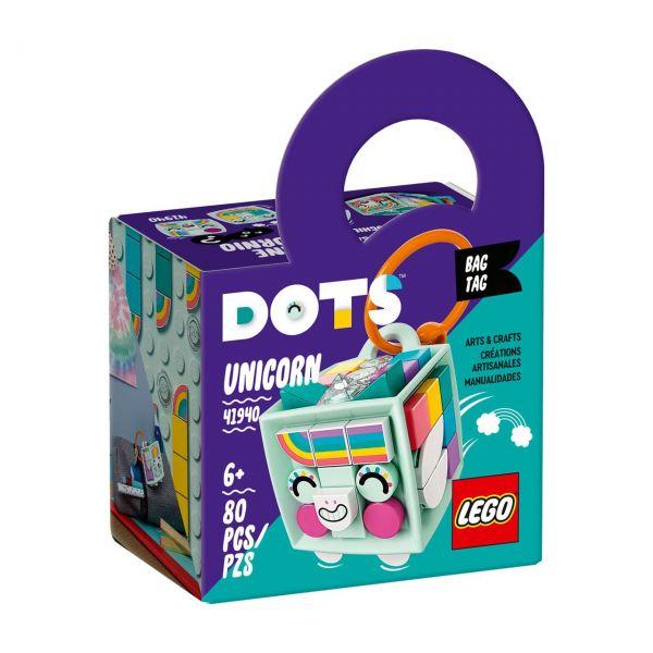 LEGO 41940 - DOTS - Taschenanhänger Einhorn