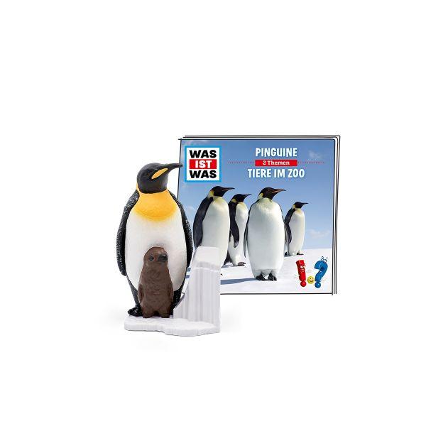 TONIES 10000265 - Hörspiel - WAS IST WAS, Pinguine - Tiere im Zoo