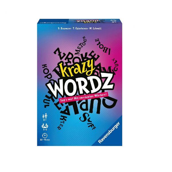 RAVENSBURGER 26837 - Gesellschaftsspiel - Party-Spiel Krazy Wordz