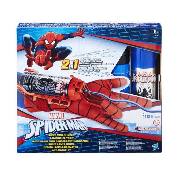 HASBRO B9764 - Marvel Spider-Man - Mega Blast Web Shooter mit Handschuh