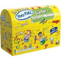 HABA 303035 - Lernspiel - Ratz-Fatz - Lieder-Spiel-Kiste