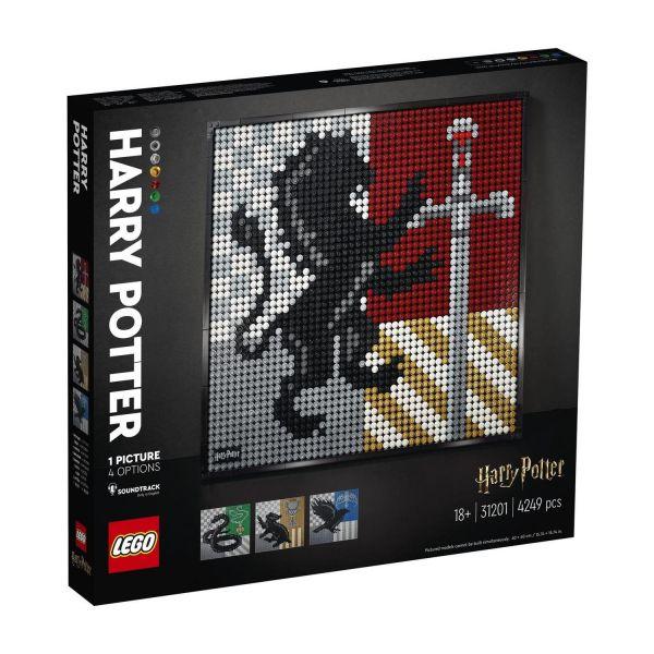 LEGO 31201 - Art - Harry Potter - Hogwarts Wappen Mosaik