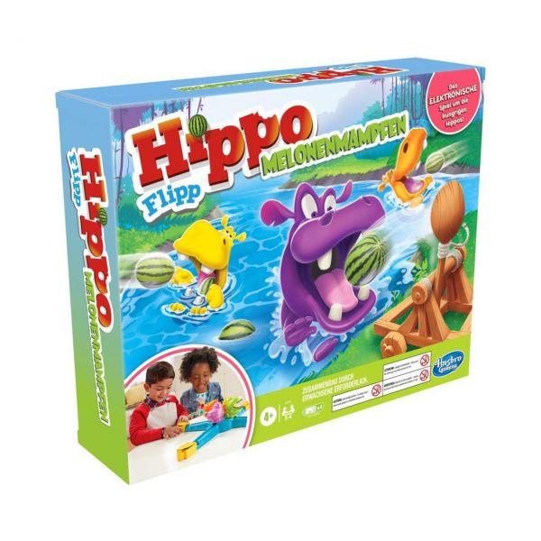 HASBRO E9707 - Kinderspiel - Hippo Flipp Melonenmampfen