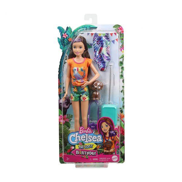 MATTEL GRT88 - Barbie - Dschungelabenteuer Skipper Puppe The Lost Birthday