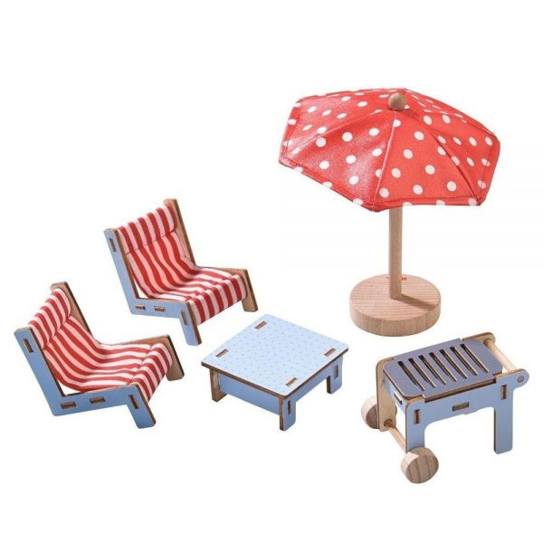 HABA 303012 - Little Friends - Puppenhausmöbel, Terrasse