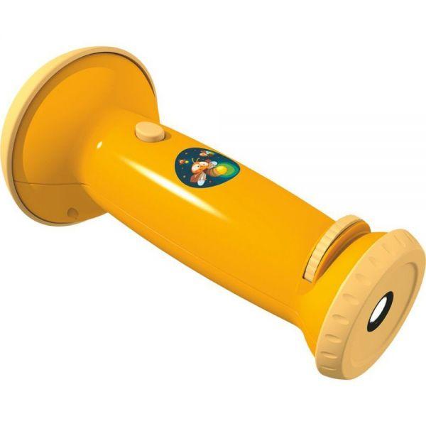 Haba 301425 - Taschenlampenprojektor (gelb): Kleines Glühwürmchen