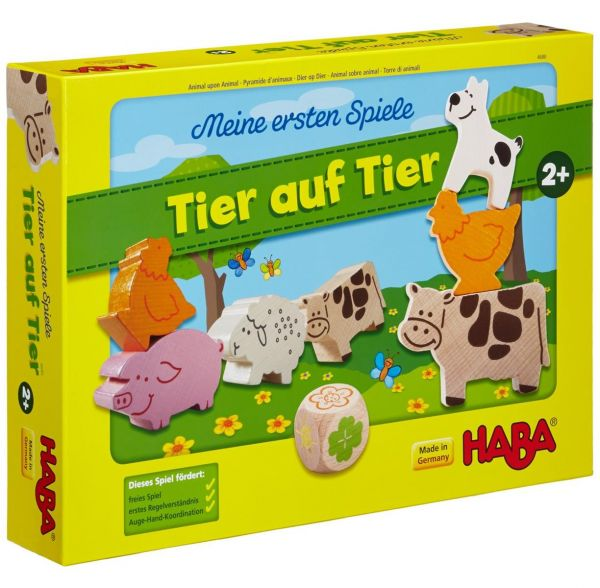 HABA 4680 - Meine ersten Spiele - Tier auf Tier