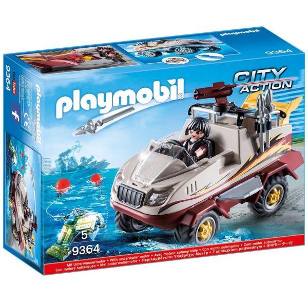 PLAYMOBIL 9364 - City Action SEK - Amphibienfahrzeug