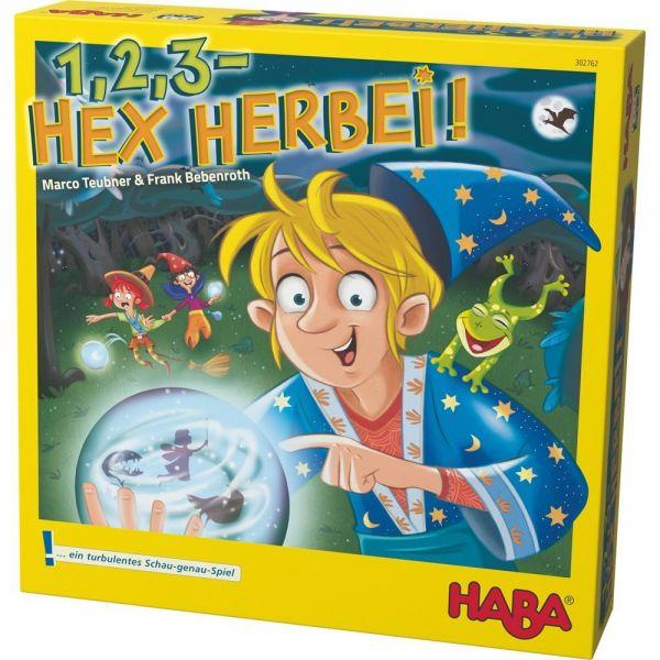 HABA 302762 - Mitbringspiel -1,2,3 - Hex herbei!