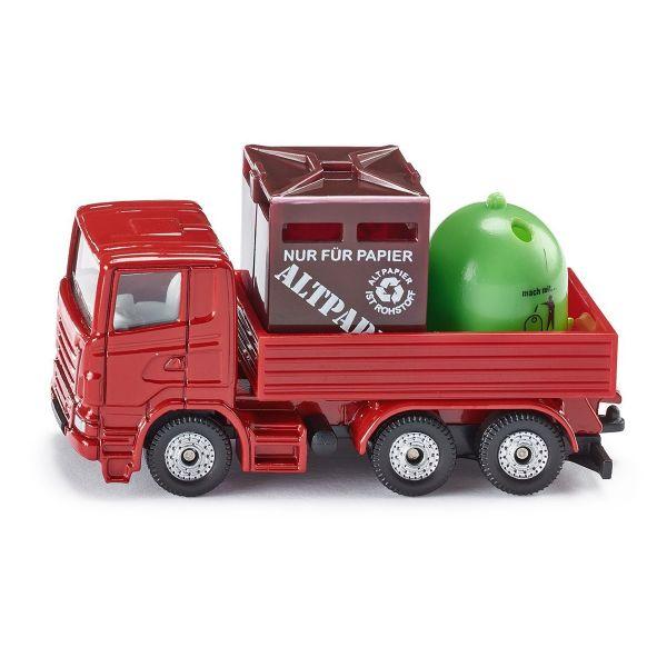 SIKU 0828 - SUPER (Blister) - Recycling Transporter