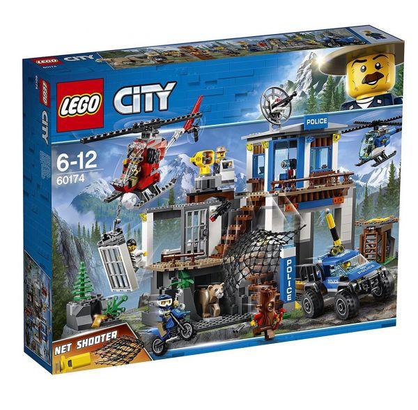 LEGO 60174 - City - Hauptquartier der Bergpolizei