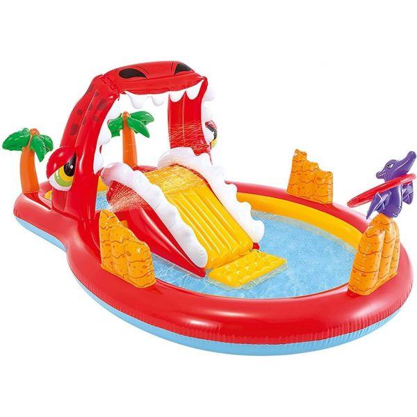 INTEX 57160NP - Spiellandschaft - Happy Dino Play Center, 259x165x107cm