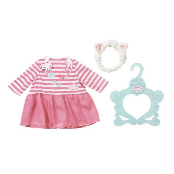Zapf Creation 701454 - Baby Annabell - Katzenberger Kleid